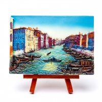 Картина Лодки в каналах Венеции КОП-2-10