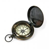Простий компас з кришкою NI116C Two Captains