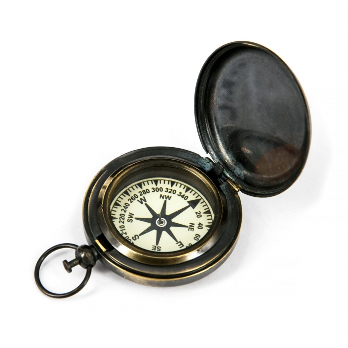 Простий компас з кришкою NI116C