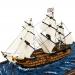 Модель корабля парусник HMS VICTORY 15 см G01B