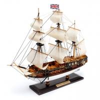 Масштабная модель корабля Royal Caroline 30 см С03-3 Two Captains