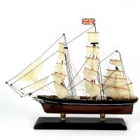 Модель корабля вітрильник Cutty Sark 30 см С21-3