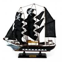 Деревянная модель парусника 34 см 3118G Two Captains