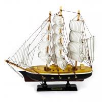 Модель корабля парусник 34 см 9909G Two Captains