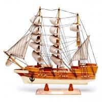 Модель парусника 44 см 6808 Two Captains