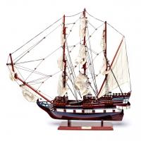 Модель корабля з дерева збірна LE SOLЕIL ROYAL 80 см 65003