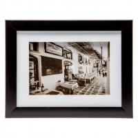 Картина ретро 18 * 23 B-77-09 (чорний, білий) Decos