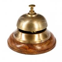 Звонок настольный для гостиниц NI453C Two Captains