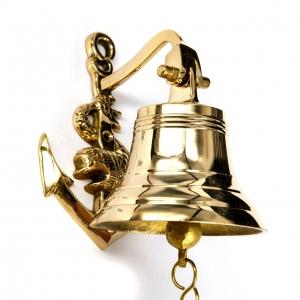 Рында корабельный колокол Якорь 6098