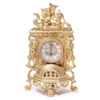 Часы для камина ангелы на лодке 82.101 Alberti Livio