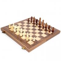 Шахматы и нарды Орех большие TS1K Manopoulos