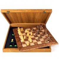 Шахматы прикорневой Орех Modern SW4040J Manopoulos
