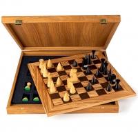 Шахматы Оливковое дерево Modern SW40E40H Manopoulos
