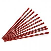 Набор палочек для суши коричневый 5 пар 08