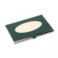 Визитница из металла зеленая 136-04 А Albero Ode