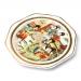 Декоративная тарелка с подставкой большая E