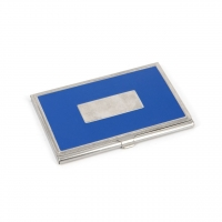 Візитниця металева блакитна 136-03 А Albero Ode