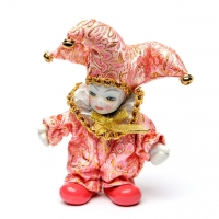 Статуэтка фигурка кукла венецианский шут A2 №2-06
