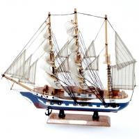 Модель корабля парусник 44 см 9857