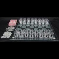 Алкогольная игра пьяные шахматы карты шашки с рюмками