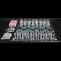 Алко шахи карти шашки зі стопками великі Lucky Gamer