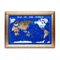 Карта світу подарункова з 740 * 540 мм M101 Albero Ode