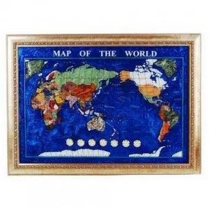 Подарочная карта мира 870*630 мм M102