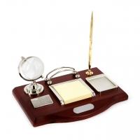 Офисный набор для руководителя с глобусом и ручкой CA2211 Albero Ode