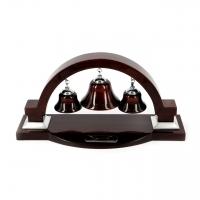 Набор для офиса Колокольчики ручка часы термометр и гигрометр PW8126