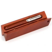 Чернильная ручка подарочная в деревянном футляре 07-41