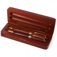 Ручка подарочная из дерева и механический карандаш D319-101 BM Albero Ode