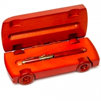 Оригинальная подарочная ручка с футляром в форме автомобиля S663-269