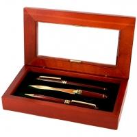 Красиві подарункові ручки і ніж для конвертів S73-101 FBL