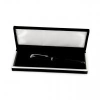 Подарункова ручка капілярна чорна / срібла К-33