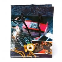 Пакет бумажный 11,5*15*6 В133 (микс 6 расцветок)