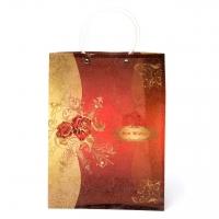 Пакет подарочный пластик  А200 (красный)