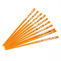 Набір паличок для суші помаранчеві (5 по 2 шт.) 02