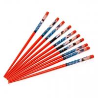 Набор палочек для суши красные 5 пар 03