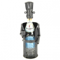 Оригінальна підставка під пляшку Сомельє з келихом ПМБ-23