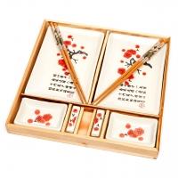Японский набор для суши белый B151 Darunok