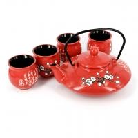 "Подарочный чайный набор ""Цветущая ветка Сакуры"" А011"