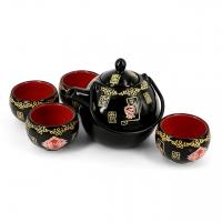 Чайный набор для пуэра черный А026