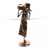 Статуэтка африканской девушки 90002 C
