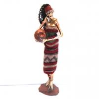 Статуэтка африканской девушки 90002 B
