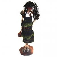 Статуэтка африканской девушки 90002 D