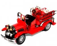 Модель старинного пожарного автомобиля 1868 Decos