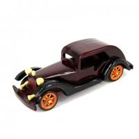 Модель автомобиля деревянная №3