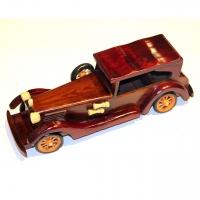 Модель автомобиля из дерева N4 Decos
