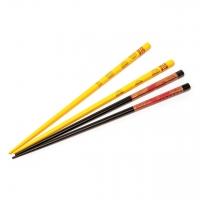 Набор палочек для суши желто черный 2 пары 08