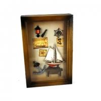 Ключниця на стіну в морському стилі 05B-0055